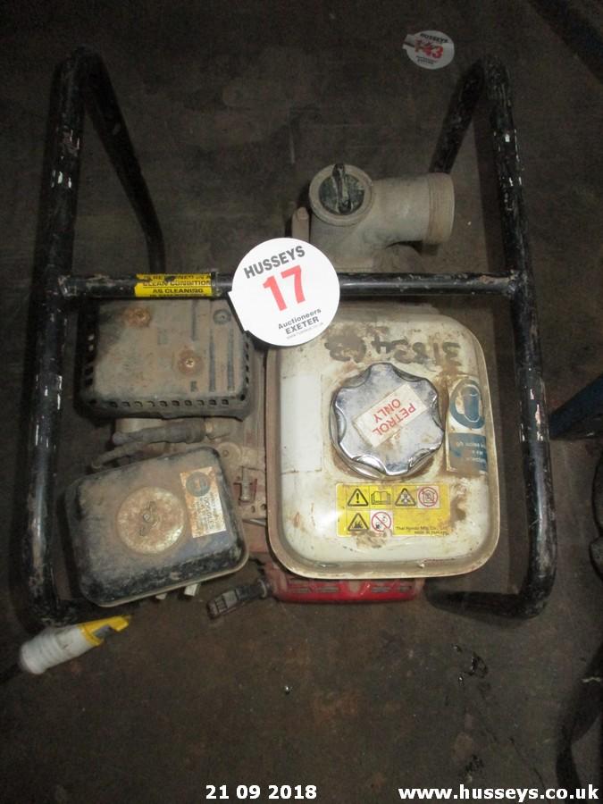Lot 17 - HONDA WATER PUMP