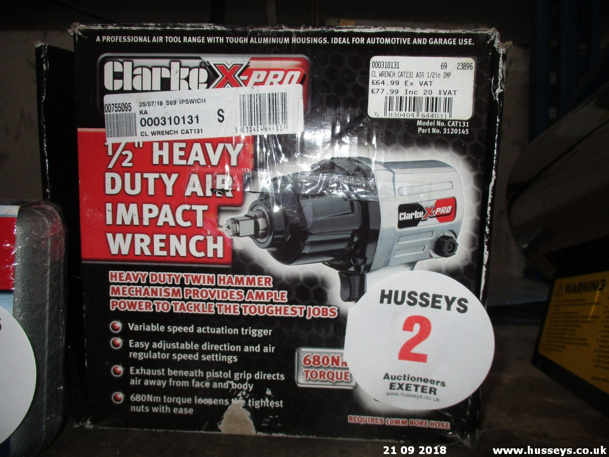 Lot 2 - IMPACT WRENCH (SPARES)