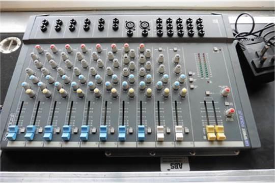 Nieuw Soundcraft Spirit Folio SI 18/2 mixing console, power supply and case KJ-81