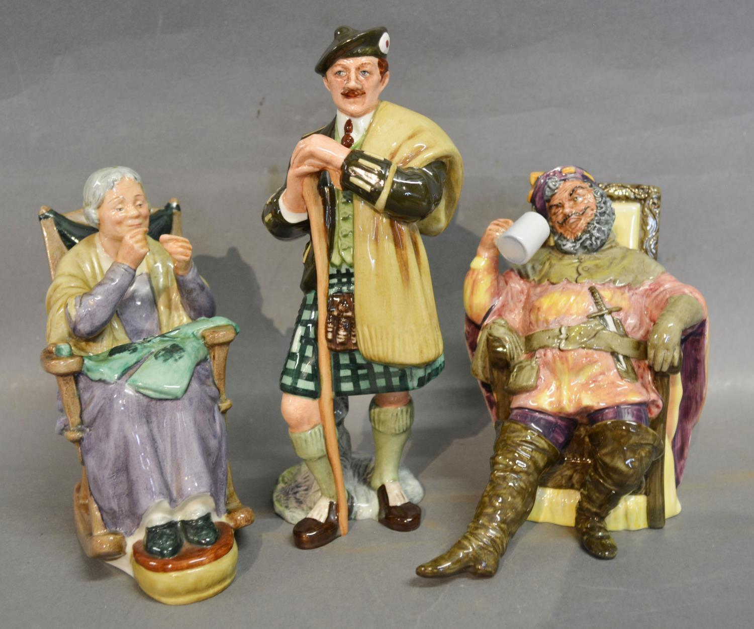 Lot 4 - A Royal Doulton Figure 'The Laird' HN Number 2361 together with another Royal Doulton Figure 'A