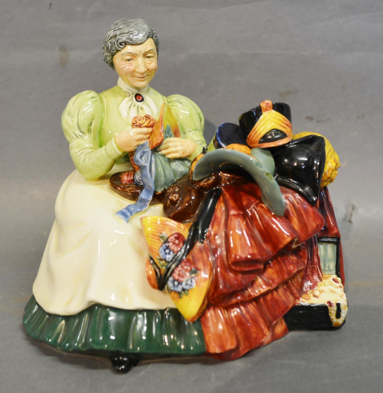 Lot 3 - A Royal Doulton Figure 'The Wardrobe Mistress' HN Number 2145