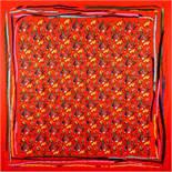 """LOUIS VUITTON Foulard """" RED SPLASH"""", Koll. 2018."""