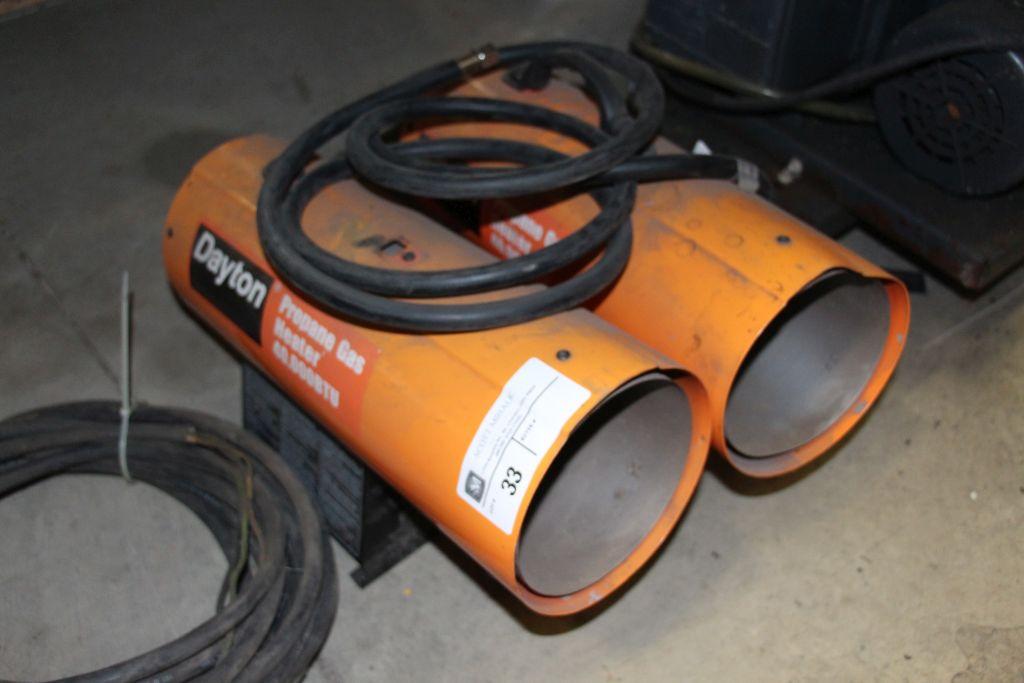 Lot 33 - Dayton 40K Propane Heaters (2)