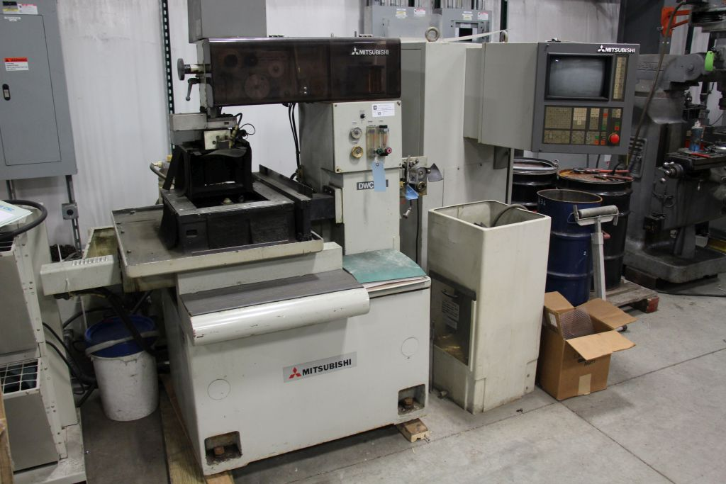 Lot 10 - Mitsubishi DWC 90C Wire EDM with controller