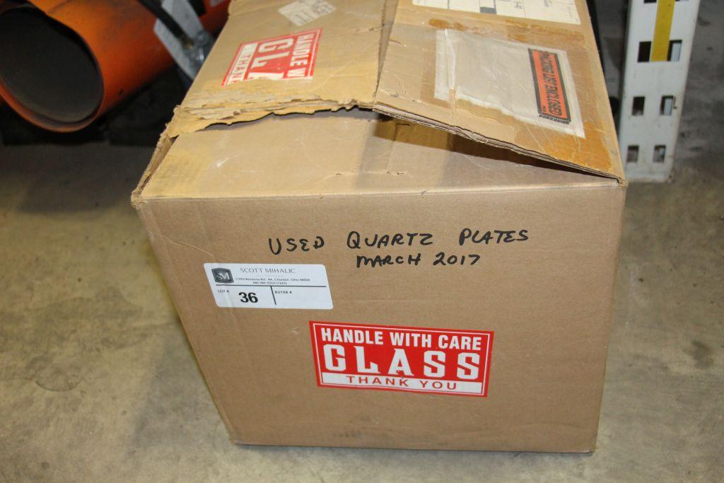Lot 36 - Used Quartz Plates
