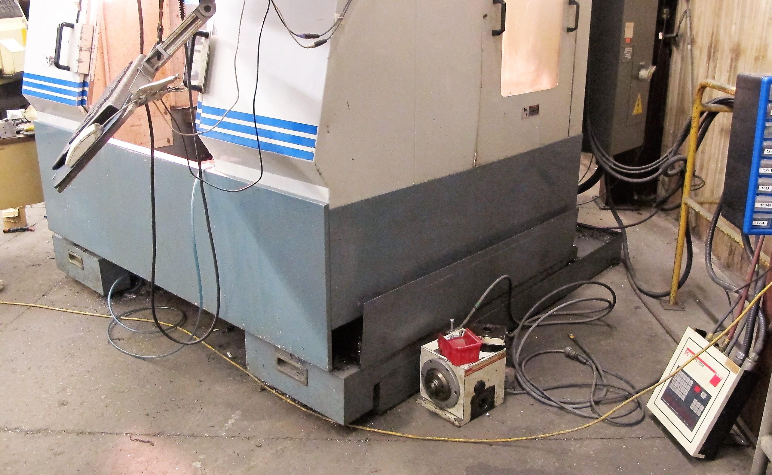 "TREEVMC 800/20 CNC VERTICAL MACHINING CENTER, S/N TS80900014U, PC-2100 CNC CONTROL, ATC, 25"" x - Image 15 of 16"