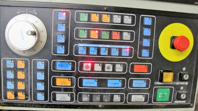 "CINCINNATI MILACRON20VC CNC VERTICAL MILLING MACHINING, 80"" x 30"" TABLE, ACRAMATIC 850SX CNC - Image 14 of 20"