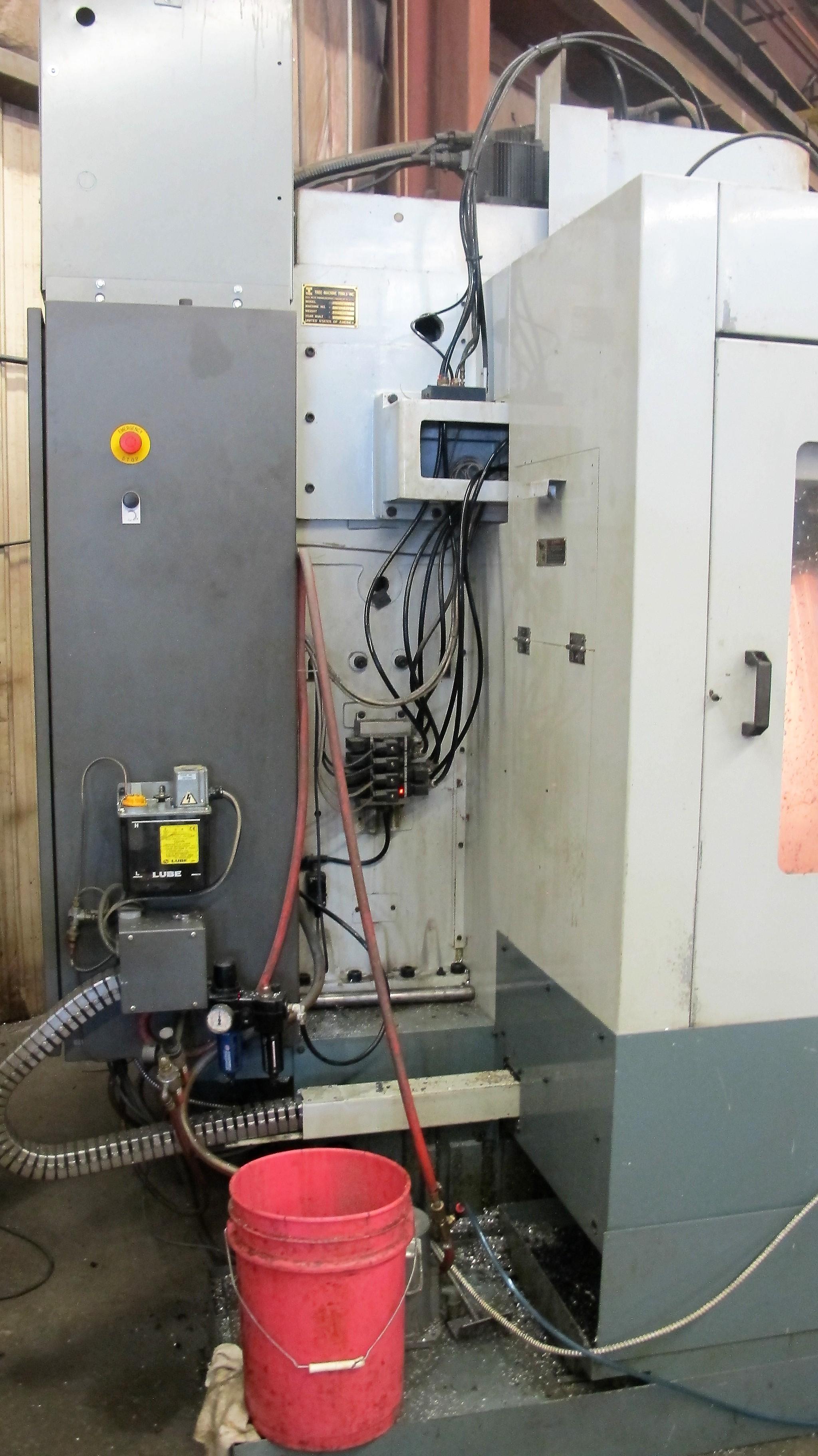 "TREEVMC 800/20 CNC VERTICAL MACHINING CENTER, S/N TS80900014U, PC-2100 CNC CONTROL, ATC, 25"" x - Image 8 of 16"
