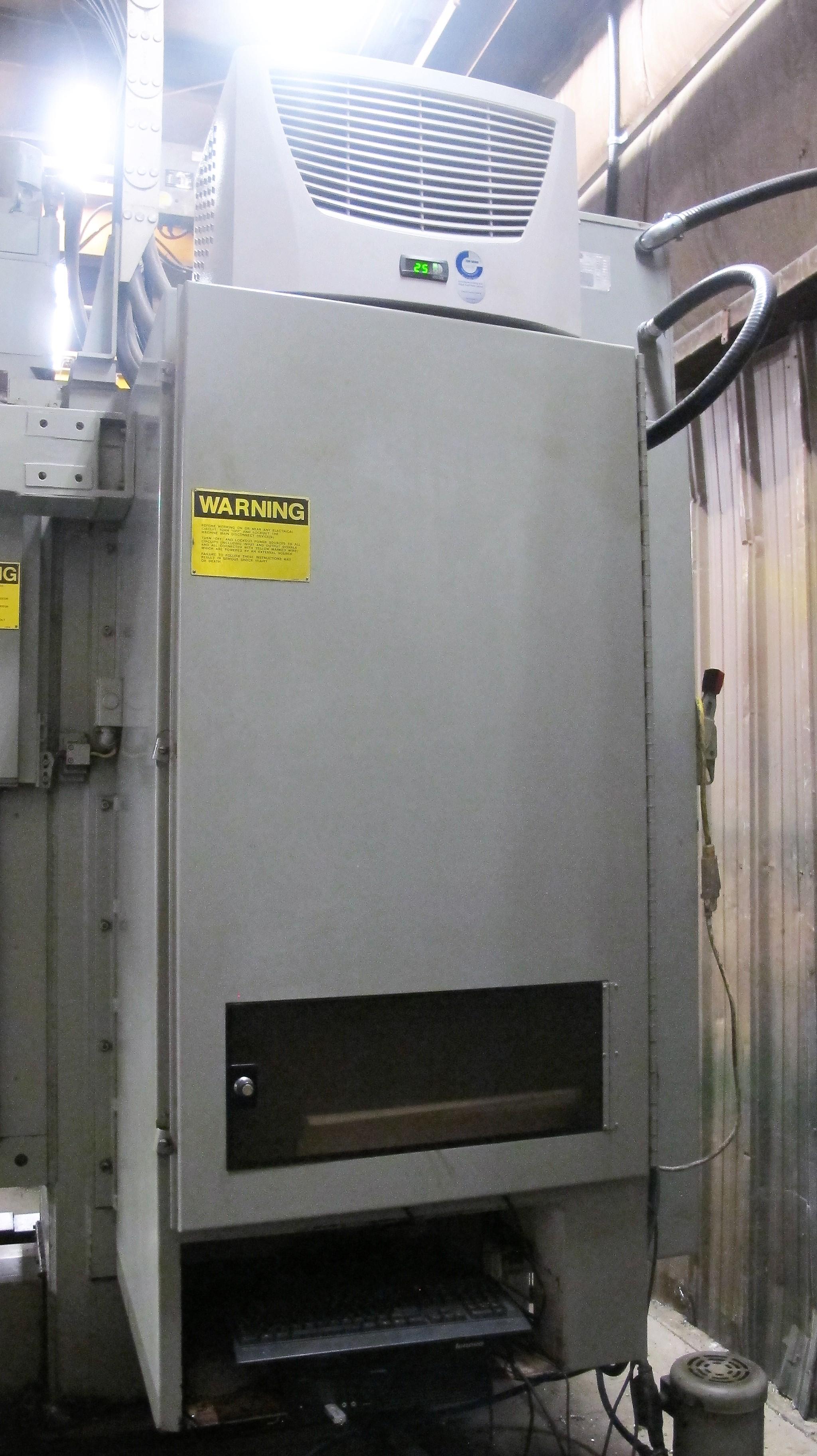 "CINCINNATI MILACRON20VC CNC VERTICAL MILLING MACHINING, 80"" x 30"" TABLE, ACRAMATIC 850SX CNC - Image 11 of 20"