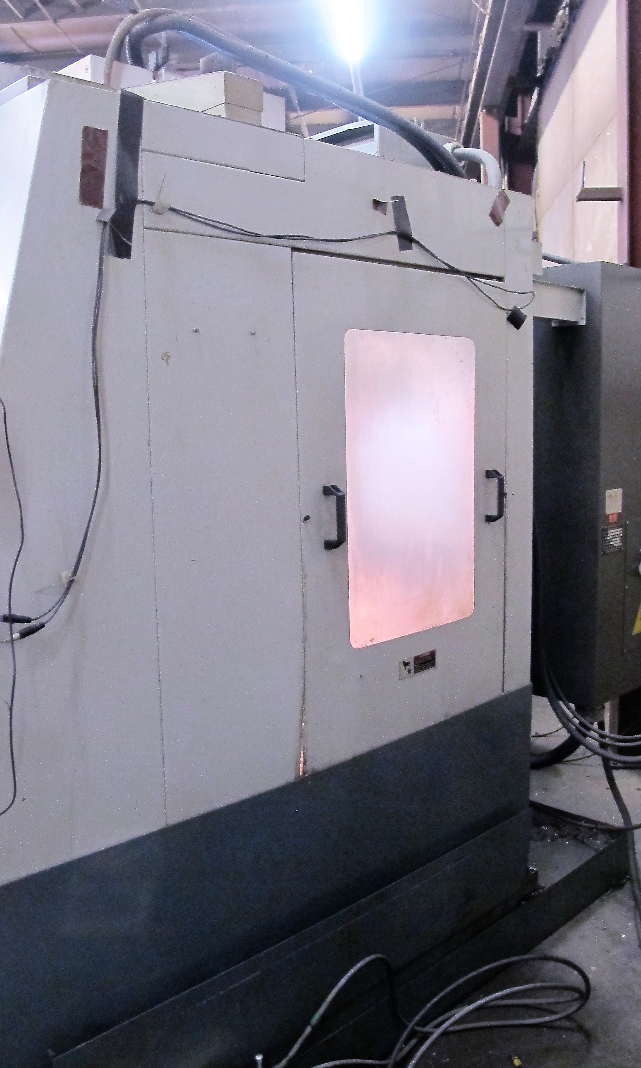 "TREEVMC 800/20 CNC VERTICAL MACHINING CENTER, S/N TS80900014U, PC-2100 CNC CONTROL, ATC, 25"" x - Image 9 of 16"