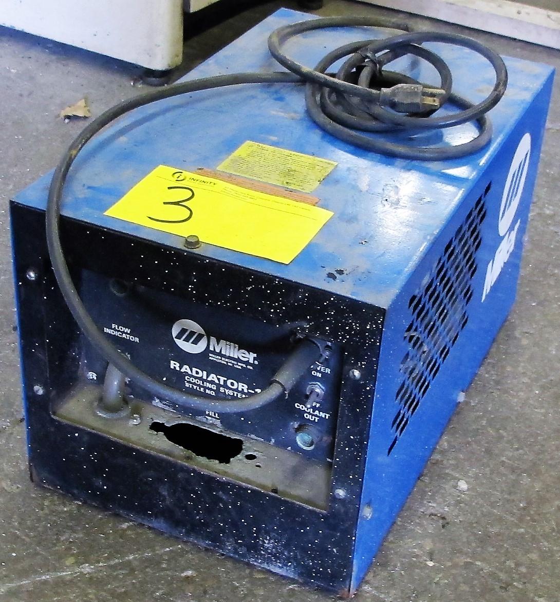 MILLER RADIATOR/COOLING SYSTEM