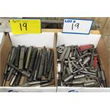 LOT OF 2 BOXES OF CARBIDE CUTTER BARS AND CUTTING ATTACHMENTS