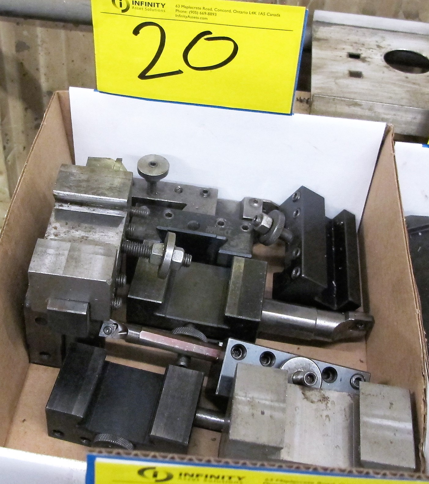 LOT OF LATHE TOOLING