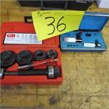 "GB ELECTRICAL KOM-50125 MECHANICAL K.O. SET 1/2""-1 1/4"" W/ELECTROTOOL SUPER WEE BLOCK SET"