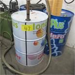 LOT OF 3 55 GALLON BARRELS OF IONO PLUS EDM OIL