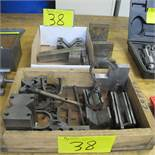 LOT OF V BLOCKS, PARALLELS, ANGLE BLOCKS AND DUO FORM BLOCKS