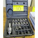 LAIP COLLET SET AND JACOBS CHUCK