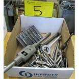 LOT OF TAPS, DIES, EXTRACTORS AND TOOLS