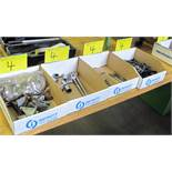 LOT OF 4 BOXES OF ALLAN KEYS, CLAMPS, SOCKETS, PULLER