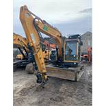 Hyundai, HX130LCR Crawler Excavator Serial No. HHKHK305LK00000189 Piped, fitted with Window Guards