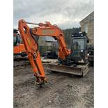 Doosan, DX85R-3 8.5 Ton Excavator Serial No. DHKCEAAVE6002291 Date of Manufacture: 2018 Piped ,
