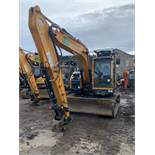 Hyundai, HX130LCR Crawler Excavator fitted with Miller 130/145PL Coupler Serial No.