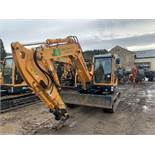 Hyundai, 80CR-9A 8.5 Ton Tracked Excavator Serial No. 1105 Date of Manufacture: 2019 Piped, Protec