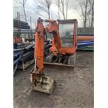 Daewoo, 030 3 Ton Excavator Date of Manufacture: 2002 rubber tracks 5x Buckets Ref: JEX10