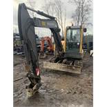 Volvo, ECR58 Rubber Tracked 6 Ton Excavator Serial No. VCEOC58T00011936 Date of Manufacture: 2007