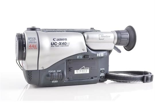 Canon Eos 500 camera, a Konica camera, zoom lens, Canon Hi8