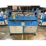 (2) Prensas de corte hidráulica plana, marca Hydraulic Cutting Machine y Dah Din Machine