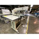 Máquina de costura programable marca Mitsubishi de una aguja, Modelo: PLK-G2516
