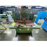 Prensa neumática de plancha caliente, Activo: PCM01191. Favor de inspeccionar.