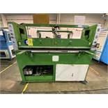 (2) Prensas de corte hidráulica plana, marca Hydraulic Cutting Machine, Modelo: CH-727A.