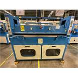 (2) Prensas de corte hidráulica plana, marca Dah Din Machine, Modelo: DJ-1028. Favor de inspeccionar