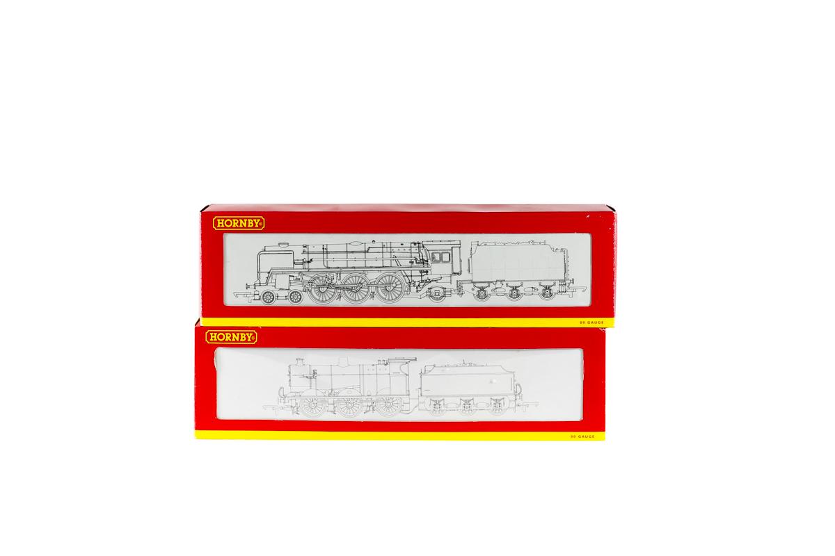 Lot 54 - 2 Hornby Railways steam locomotives. A BR Britannia class 7MT 4-6-2 tender locomotive 'Anzac'