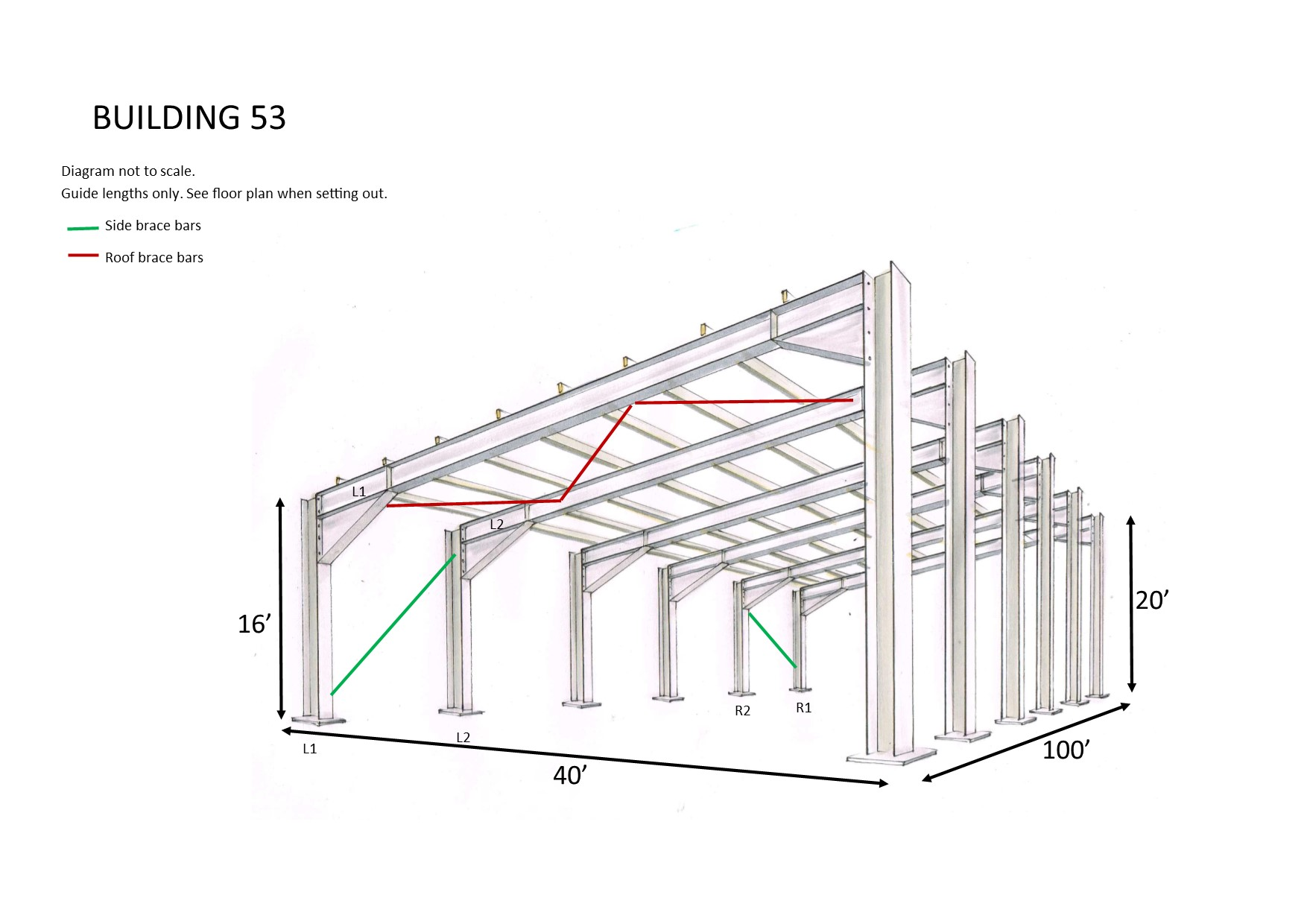 Monoslope roof pitch monopitch roof design for How to build a sloped roof shed