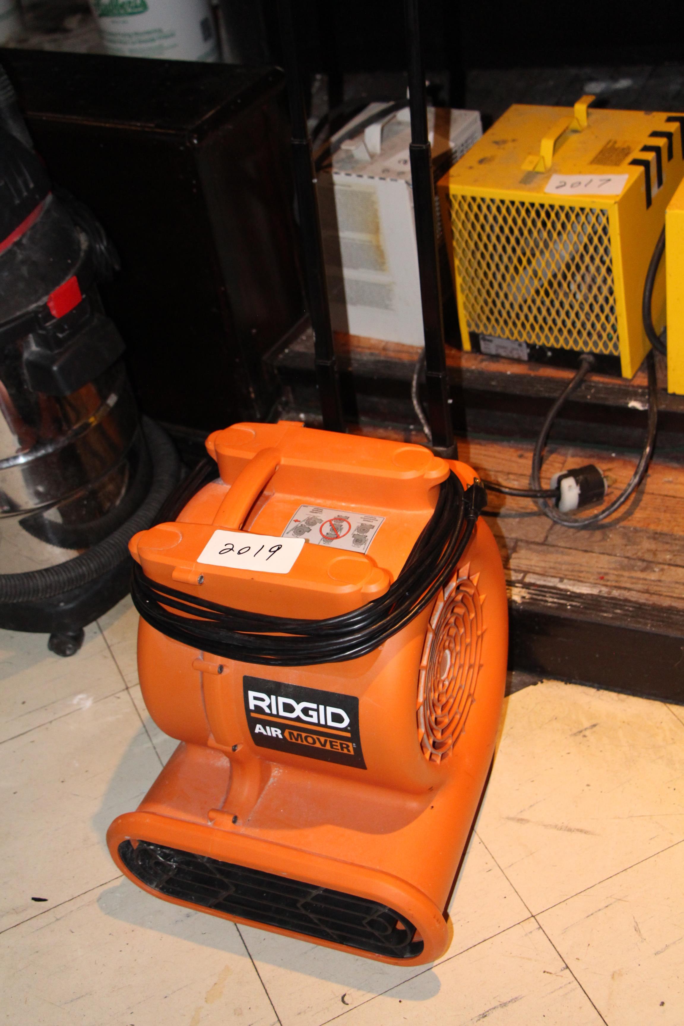 Lot 2019 - Ridgid electric air mover