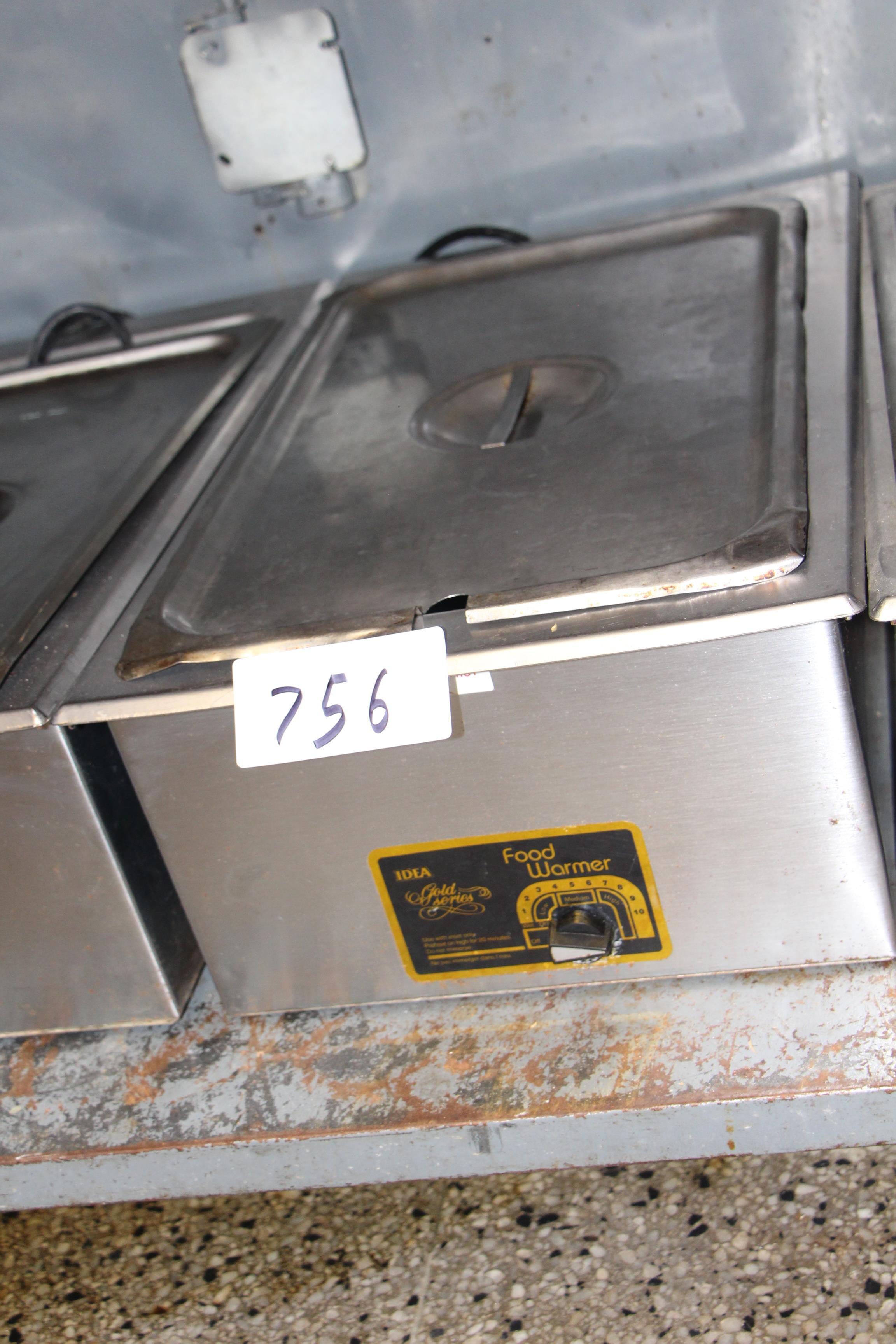 Lot 756 - Idea electric food warmer