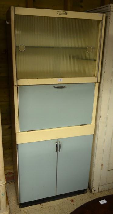 Lot 33 - 1950s/60s 'Eastham' retro kitchen cabinet larder
