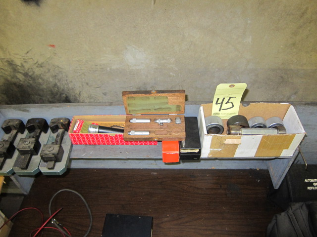 Lot 45 - LOT OF INSPECTION PIECES, assorted