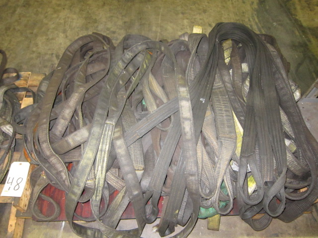 Lot 48 - LOT OF STRAPS, assorted (on one skid)