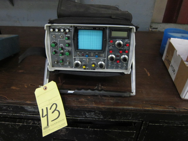 Lot 43 - REFLECTOSCOPE, AUTOMATION/SPERRY MDL. QC400