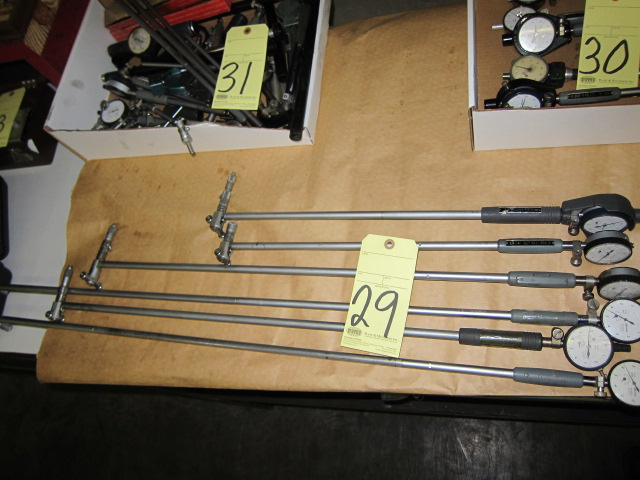 Lot 29 - LOT OF DIAL BORE GAUGES (6), MITUTOYO, assorted