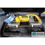 DEWALT ELECTRIC PORTABLE BAND SAW