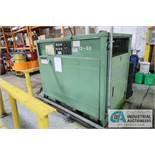 50HP SULLAIR MODEL 12BS-50H ACAC CABINET TYPE AIR COMPRESSOR; S/N 003-70720, 42,867 HOURS