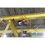 2-TON BUDGIT ELECTRIC TROLLEY TYPE CHAIN HOIST WITH PENDANT