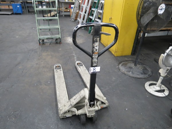 Lot 8 - Crown 4500 LBS Pallet Jack