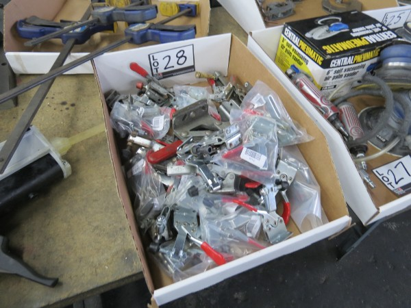 Lot 28 - Quick Clamps