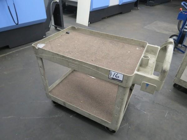 Lot 16 - Rubbermaid Plastic Cart
